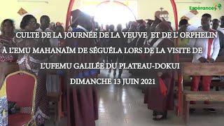 CULTE DE L'ESPERANCE DU DIMANCHE 27 JUIN 2021