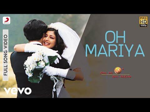 A.R. Rahman - Oh Mariya Best Video|Dil Hi Dil Mein|Sonali Bendre|Devan|Remo