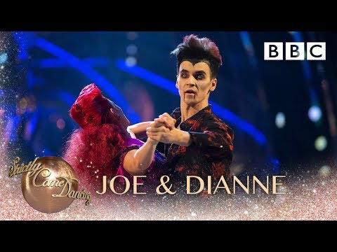Joe Sugg and Dianne Buswell Foxtrot to 'Youngblood' by 5 Seconds of Summer – BBC Strictly 2018