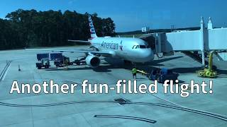 American Airlines A319 Charlotte to Myrtle Beach