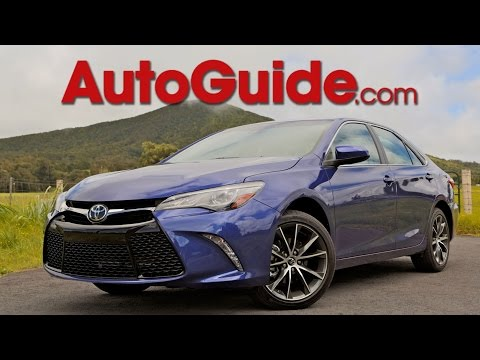 2015 Toyota Camry Review - First Drive