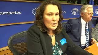 Тетяна Монтян // Виступ в Європарламенті про свавілля суддівської влади