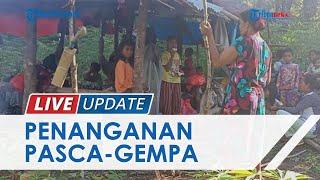 Warga Maluku Mengungsi ke Hutan Pascagempa 6,1 SR, Keluhkan Kurangnya Bantuan Makanan & Obat-obatan