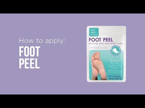 Skin Republic buccia di piede (Crema piedi e gel piedi, 40ml)
