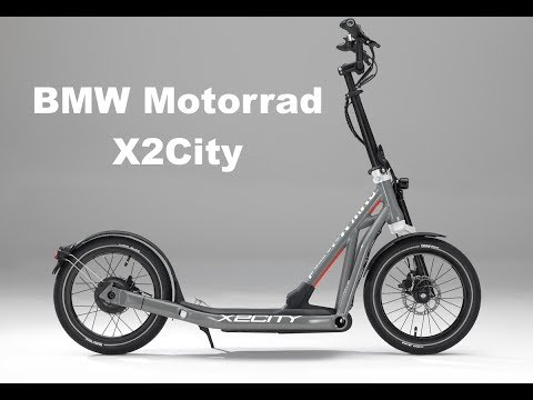 BMW Motorrad X2City Folding Electric Scooter