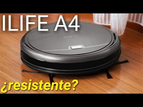 ILIFE A4 tras 1 año de uso Robot aspirador ILIFE A4S Vacuum cleaner Chuwi ILIFE A4 one year working