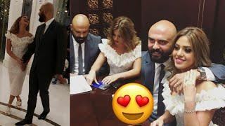 عقد قران أحمد صلاح حسني & إسراء جمال