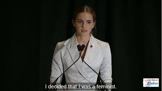 Learn English with Emma Watson's Speech on the HeForShe Campaign - English Subtitle