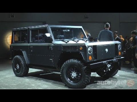 Bollinger Motors B1 Electric Truck Overview Video
