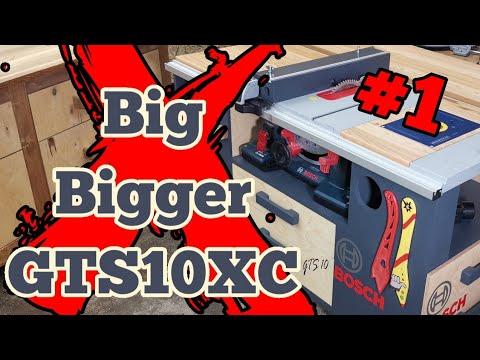 Tischkreissäge Unterschrank selber bauen!! Für meine Bosch GTS 10 XC.
