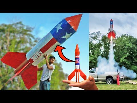 How 2021's Biggest Firework Rocket was Made