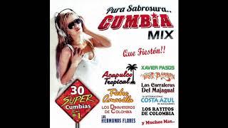 Pura Sabrosura Cumbia Mix - 30 Super Cumbias (Disco Completo)