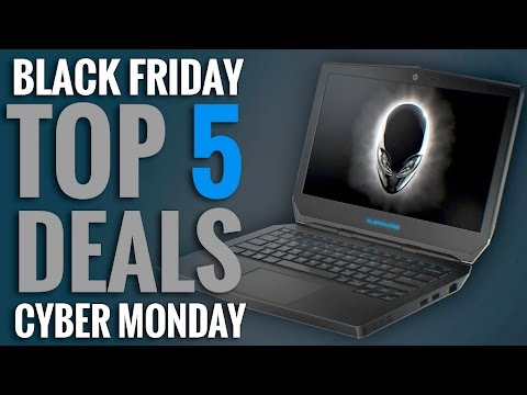 Top 5 Deals for Black Friday & Cyber Monday