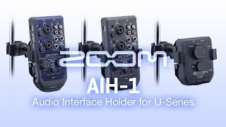 Zoom AIH-1 Audio Interface Holder Video