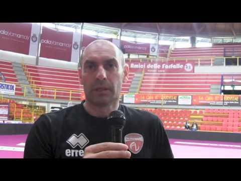 Intervista a Carlo Parisi prima della gara 2 delle semifinali scudetto