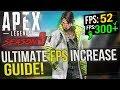 🔧 Apex Legends Season 3: Dramatically increase FPS / Performance with any setup! Season 3 Meltdown