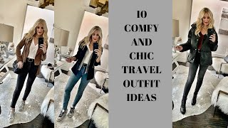 10 Travel Outfit Ideas | Fashion Over 40