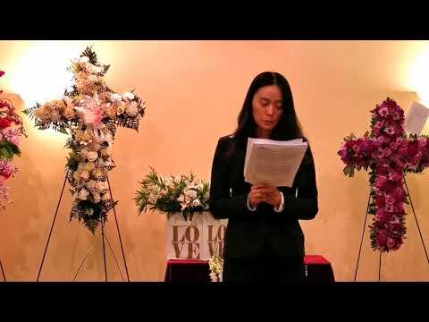 Kathy Ke Memorial Service 2019/04/27 (4) College Friend Speech