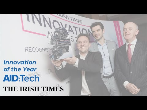 AID:Tech - Winner of the Irish Times Innovation of the Year Award 2018