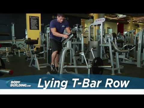 Lying T-Bar Row