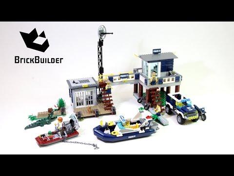 Vidéo LEGO City 60069 : Le poste de police des marais