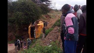 Uhuru mourns 10 pupils killed in Mwingi crash - VIDEO