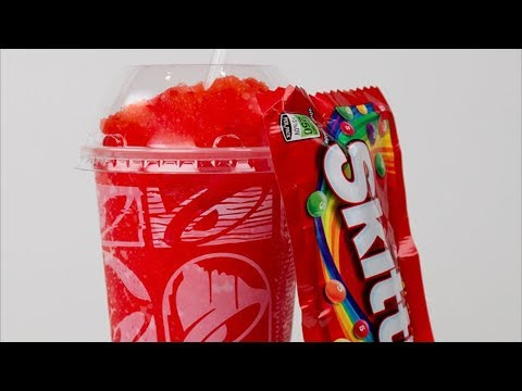 CarBS - Taco Bell Strawberry Skittles Freeze Review