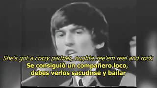 Roll over Beethoven - The Beatles (LYRICS/LETRA) [Original]