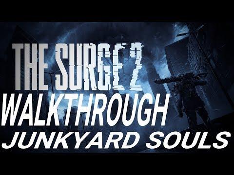 The Surge 2 [2019] - Walkthrough Longplay - Part 16