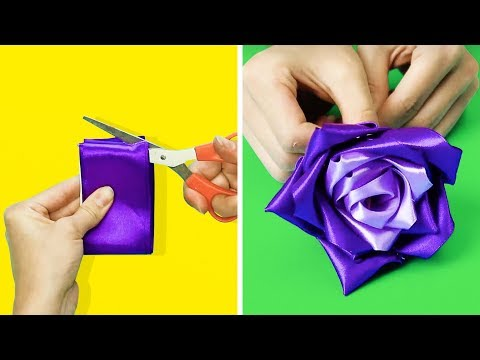 19 Fabulous Flower Crafts