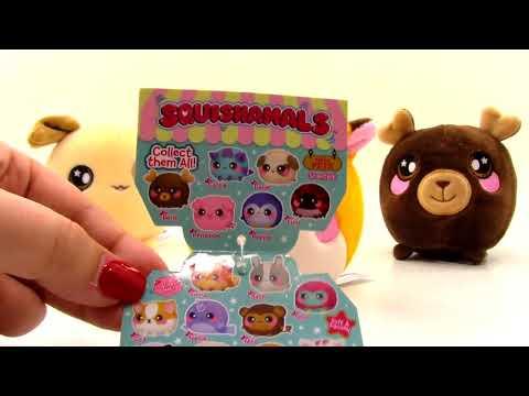 Squishamals Squishy Plüsch Kuscheltiere Haustiere Plüschtiere Unboxing Spielzeug Rezension Von Thet