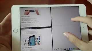 iPad Mini 4 Review + iOS 9 Review - dooclip.me