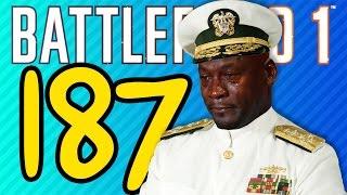 187 KILL DREADNOUGHT MASSACRE | Battlefield 1