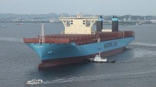 世界最大のコンテナ船が横浜に初入港/神奈川新聞(カナロコ)