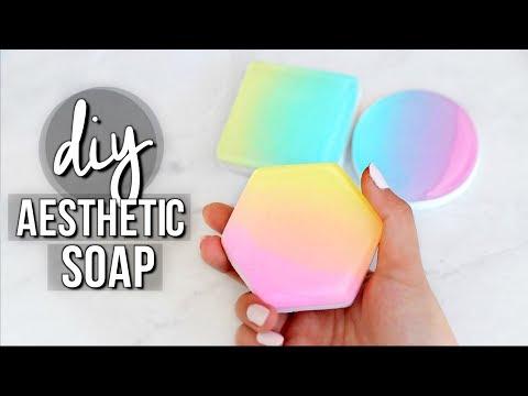 DIY Aesthetic Soap (Ombre/Gradient Soap)   JENerationDIY