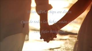 Four Tops - I believe in You and Me/Lyrics