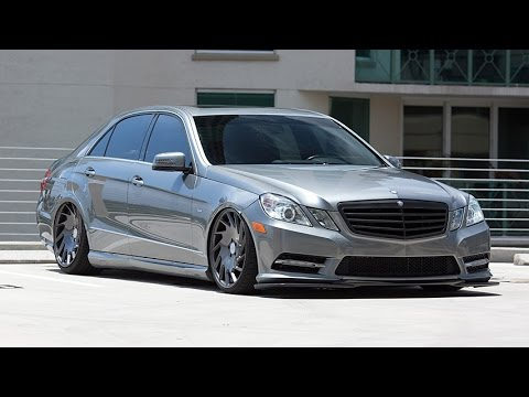 Mercedes Benz E Class on Vossen VLE 1 Wheels