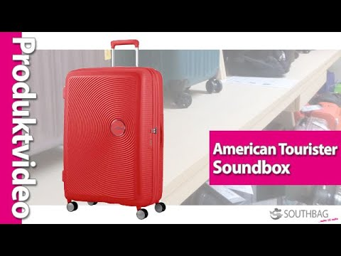 American Tourister Trolley Soundbox - Produktvideo
