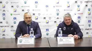 Пресс-конференция по итогам «Алтай Торпедо - »Номад