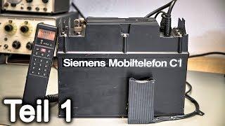 #84-1 Zerlegung: Siemens Mobiltelefon C1 - Teil 1