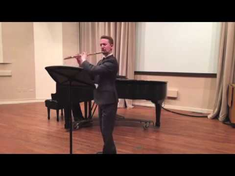 An excerpt from my first MM recital at Northwestern University, 02/24/17