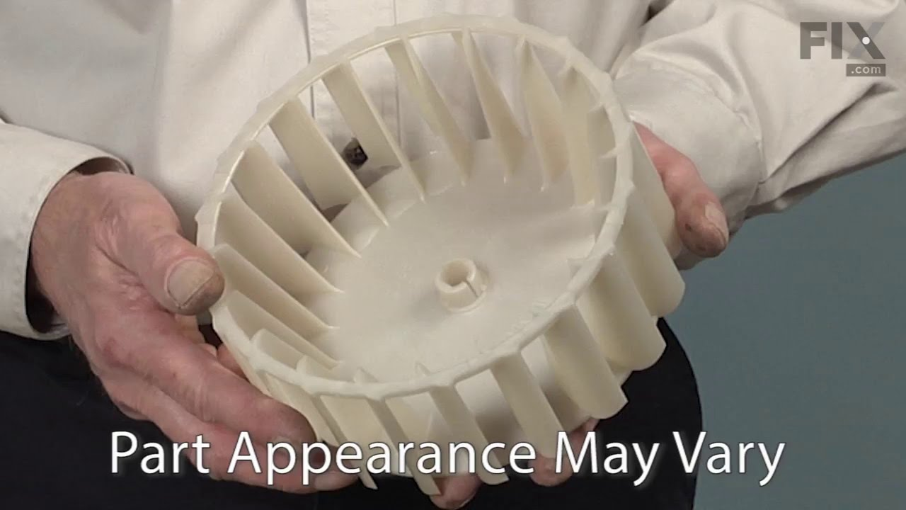 Replacing your Maytag Dryer Blower Wheel with Clamp