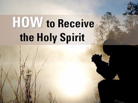 Tuhan berjanji bahwa Dia pasti akan memberikan Roh Kudus kepada mereka yang percaya kepada-Nya. Apa yang perlu kita lakukan di pihak kita untuk menerima anugerah yang berharga ini?