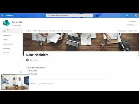 Sharepoint Teamsite anpassen: Tutorial für Startseite, Logo, Navigation und Webparts