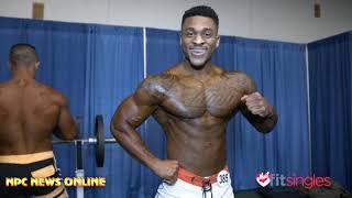 2020 Arnold Amateur Mens Physique Backstage Pt.1