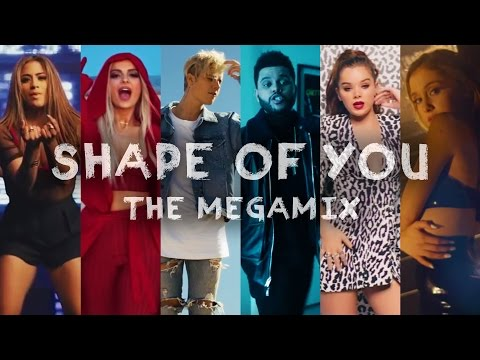 SHAPE OF YOU | The Megamix Ft. Selena Gomez, TØP, Ariana Grande, Justin Bieber, And More