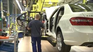 How it's made Mercedes Benz E Class Production factory