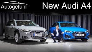 New Audi A4 Facelift Premiere REVIEW S4 sedan vs A4 Avant vs A4 Allroad comparison 2020