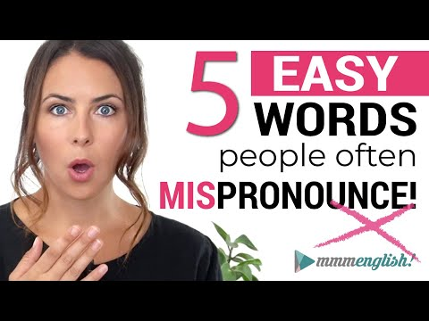 Download Back To Basics: Common English Words You May Mispronounce 😯 Mp4 HD Video and MP3
