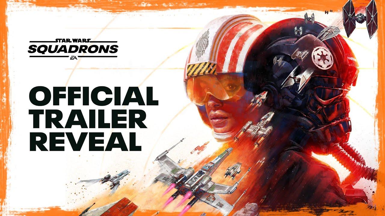 Анонсирующий трейлер игры Star Wars: Squadrons